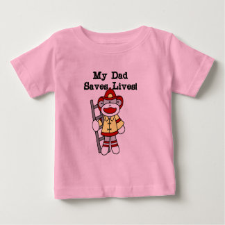 My Dad Saves Lives Firefighter Tshirts and Gifts