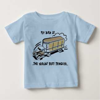 My Dad The Trucker T-shirt