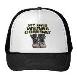 My Dad Wears Combat Boots Trucker Hat