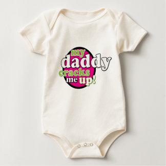 My Daddy #1 Baby Creeper