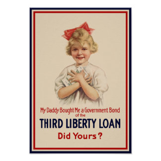 My Daddy Bought Me A Government Bond Poster
