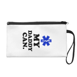 My Daddy Can.  EMT. Wristlet Purse
