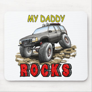 My_Daddy_Daddy_Rocks_ZJ Mouse Pad