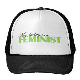 My daddy is a feminist mesh hat