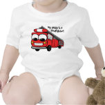 My daddy is a firefighter - baby romper