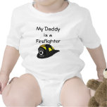 My Daddy is a Firefighter Bodysuits