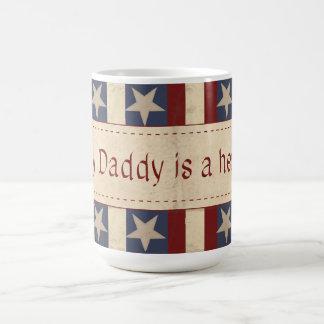 My Daddy is a Hero Mug