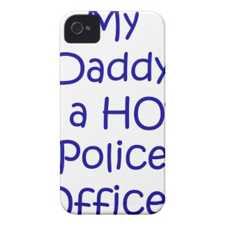My daddy is a hot police officer iPhone 4 covers