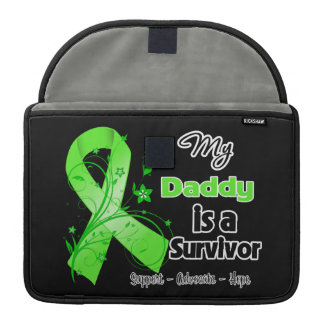 My Daddy is a Lymphoma Survivor Sleeve For MacBooks