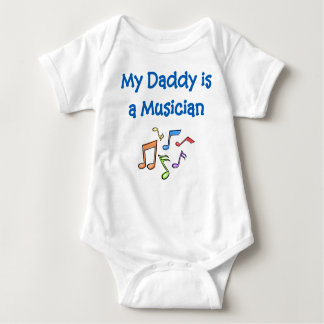 My Daddy is a Musician Baby Bodysuit