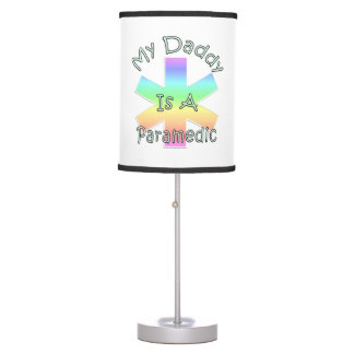My Daddy Is A Paramedic Desk Lamp