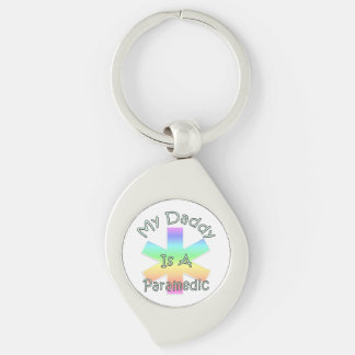 My Daddy Is A Paramedic Key Chains