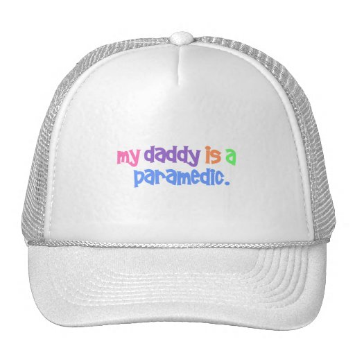 My Daddy Is A Paramedic (Pastel) Trucker Hat