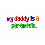 My Daddy Is A Paramedic (Primary) Postcards