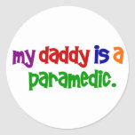 My Daddy Is A Paramedic (Primary) Sticker