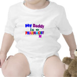 """""""My daddy is a pharmacist"""" gifts for kids Tshirts"""