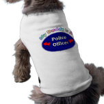 My Daddy Is A Police Officer Pet Tee Shirt