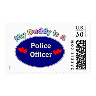 My Daddy Is A Police Officer Postage