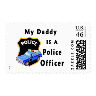 My Daddy Is A Police Officer Stamps