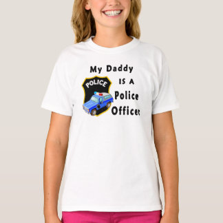 My Daddy Is A Police Officer T-Shirt