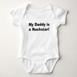 My Daddy is a Rockstar! Baby Bodysuit