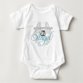 My Daddy is an Angel Baby Bodysuit