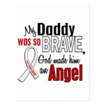 My Daddy Is An Angel Lung Cancer Post Cards