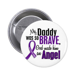 My Daddy Is An Angel Pancreatic Cancer Buttons