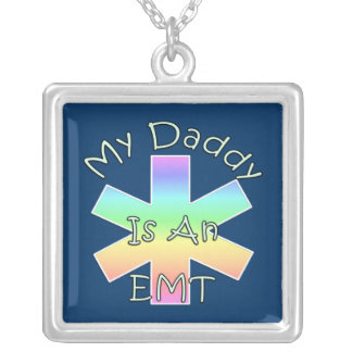 My Daddy Is an EMT Necklaces