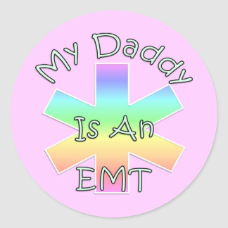 My Daddy Is an EMT Stickers