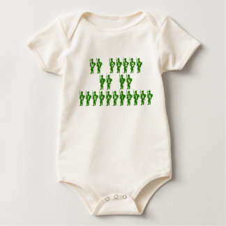 My Daddy is in Afghanistan Baby Bodysuit