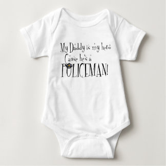 My Daddy is My Hero, Because He's a Policeman Shirt
