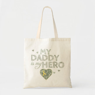 My Daddy is my Hero - Camo Tote bag