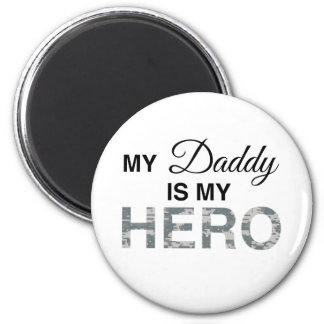 My Daddy is my Hero Digital Camouflage Fridge Magnets