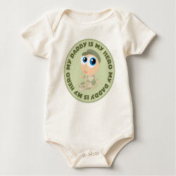My Daddy Is My Hero Infant Tee Shirt