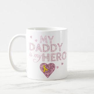 My Daddy is my Hero - Pink Camo - Coffee Mug