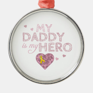 My Daddy is my Hero - Pink Camo - Ornament
