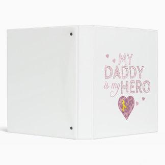 My Daddy is my Hero - Pink USA - Binder