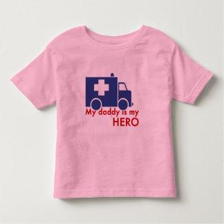 My Daddy Is My Hero Tee Shirt