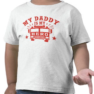 My Daddy Is My Hero T-shirt
