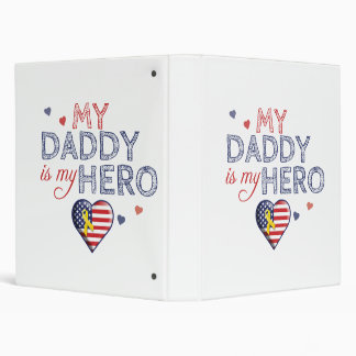 My Daddy is my Hero - USA - Binder