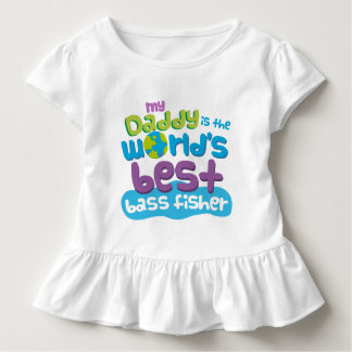 My Daddy is the Worlds Best Bass Fisher t-shirt