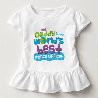 My Daddy is the Worlds Best Police Officer t-shirt