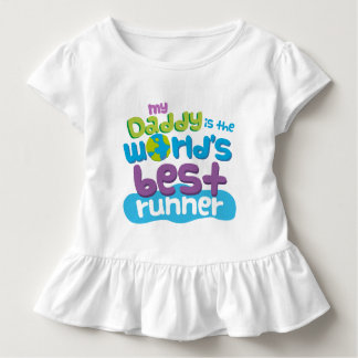 My Daddy is the Worlds Best Runner t-shirt