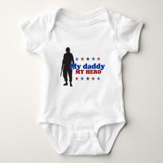 My Daddy, My Hero Baby Bodysuit