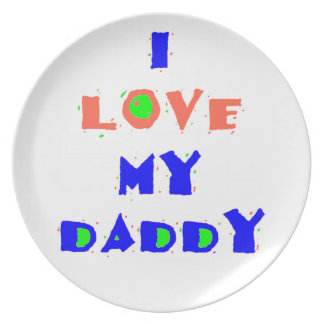 My Daddy Plate