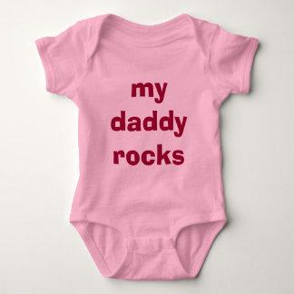 My daddy rocks for little girl i baby bodysuit