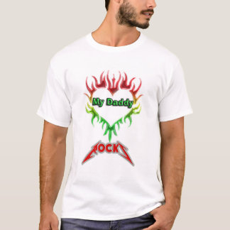 My Daddy Rocks V2.0 T-Shirt