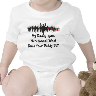 My Daddy Runs Marathons. What Does Your Daddy Do? Romper
