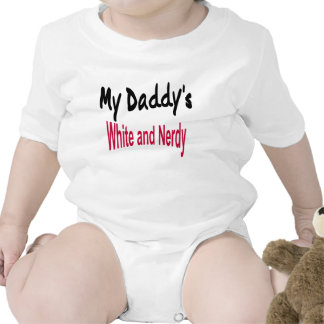 My Daddy s White and Nerdy Romper